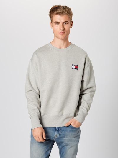 világosszürke Tommy Jeans Tréning póló: Elölnézet