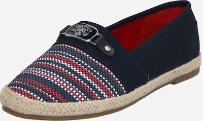 TOM TAILOR Espadrilles in blau / rot / weiß, Produktansicht