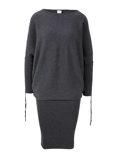 heine Kleid in graumeliert: Frontalansicht