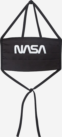 Mister Tee Stoffmaske 'NASA' in schwarz, Produktansicht