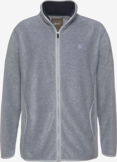 Man's World Fleecejacke in grau, Produktansicht