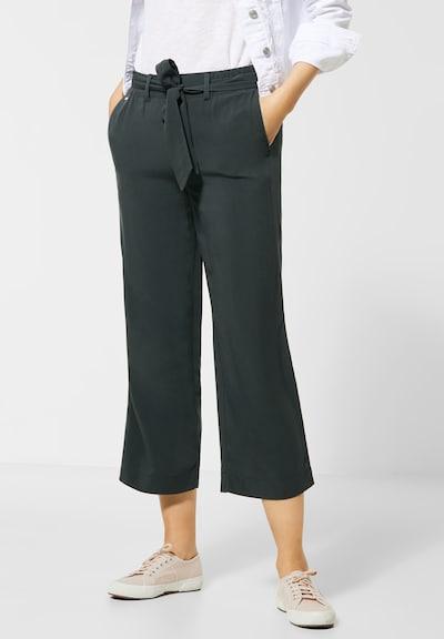 STREET ONE Pantalon 'QR Emee Wide Leg Pants' en gris, Vue avec modèle