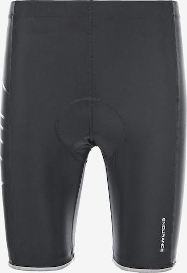 ENDURANCE Radhose Gorsk-Short mit extra weicher Sitzpolsterung in schwarz, Produktansicht