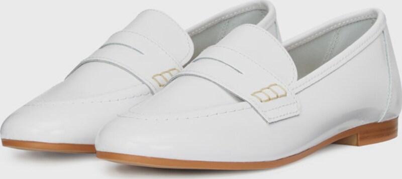 Haltbare Mode billige Schuhe Bianco | Gut Patent Penny Halbschuhe Schuhe Gut | getragene Schuhe 902a29