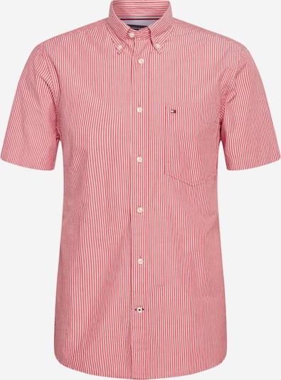 TOMMY HILFIGER Hemd in rot / weiß, Produktansicht
