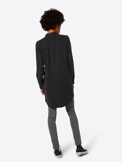 VERO MODA Kleid 'Chambray' in schwarz: Rückansicht