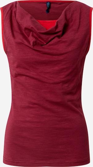 Tranquillo Top 'SINJE' in de kleur Rood, Productweergave
