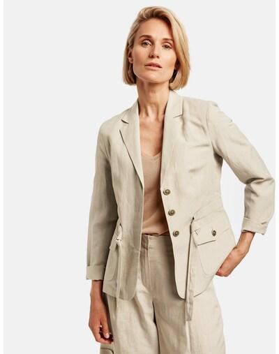 GERRY WEBER Blazer in beige, Modelansicht
