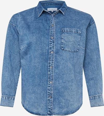 Bluză ONLY Carmakoma pe denim albastru, Vizualizare produs