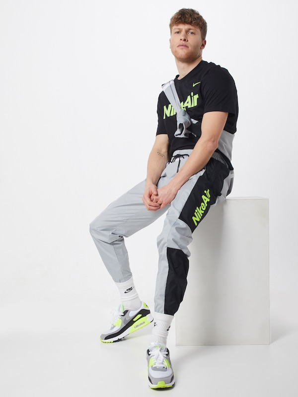 nike athlete shirt schwarz