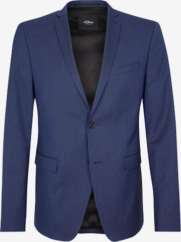 s.Oliver BLACK LABEL Businesskavaj i blå