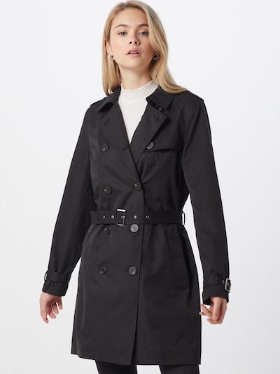 VILA Prehodna jakna | črna barva, Prikaz modela
