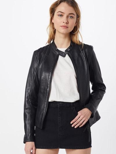 tigha Jacke 'Darla' in schwarz, Modelansicht