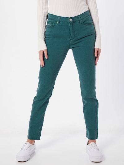 BRAX Jeans 'SHAKIRA' in de kleur Jade groen: Vooraanzicht