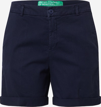 UNITED COLORS OF BENETTON Pantalon chino en bleu foncé, Vue avec produit