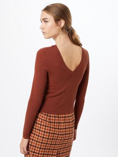 ONLY Pullover 'ONLLYNSIE' in braun, Modelansicht