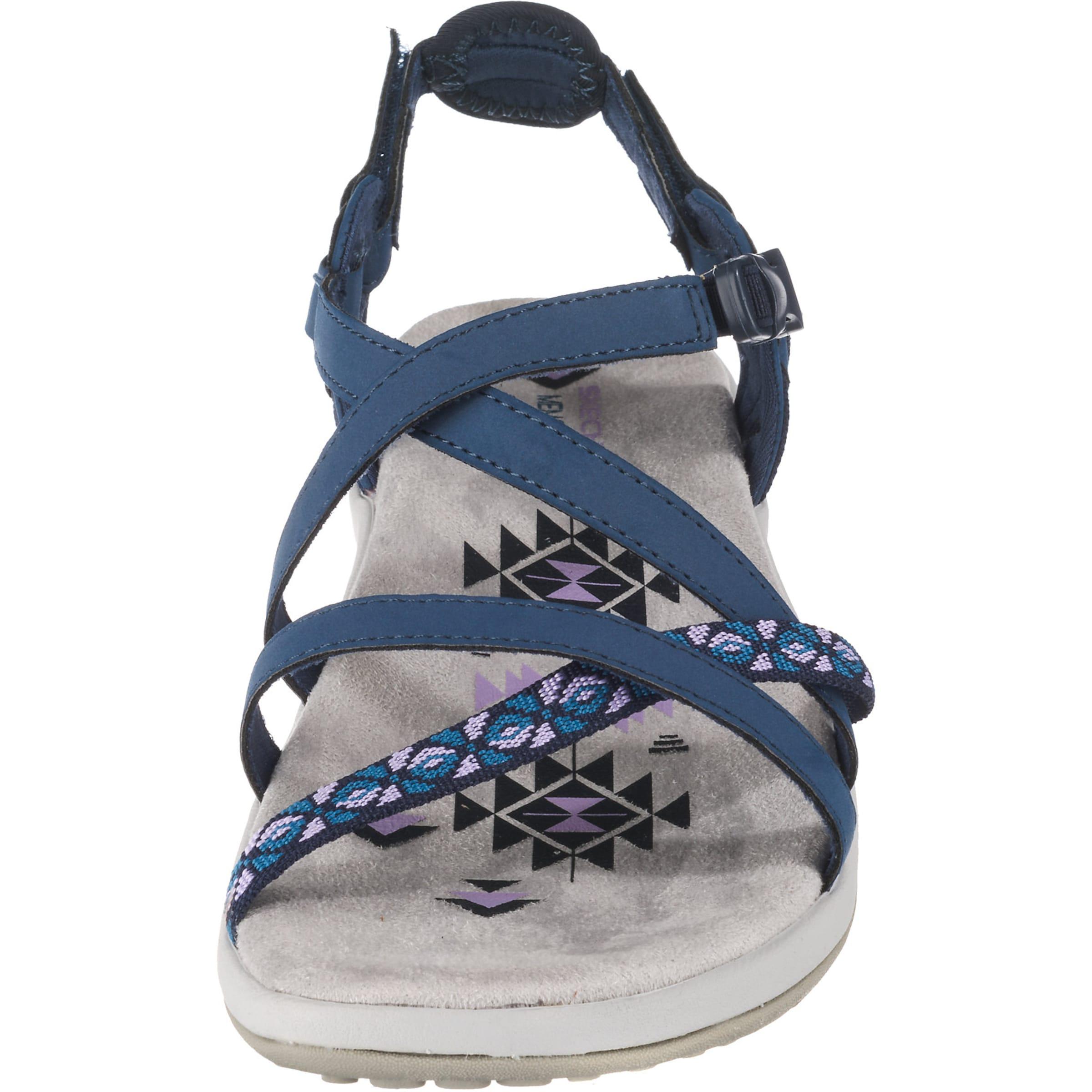 Sandale Skechers BlauAltrosa BlauAltrosa Sandale In Skechers In pGMLSzqUV
