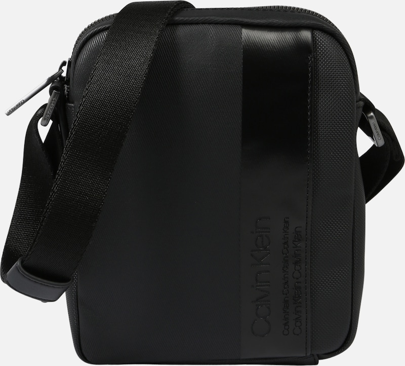 À Noir Bandoulière Reporter' Mix Sac Mini 'elevated En Klein Calvin ebEH9WD2IY