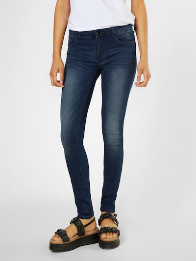 ONLY Jeans 'CARMEN' in blue denim, Modelansicht