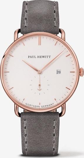 Paul Hewitt Uhr in rosegold / dunkelgrau / weiß, Produktansicht