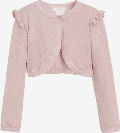 MANGO KIDS Strickjacke 'Luck-r' in pink, Produktansicht