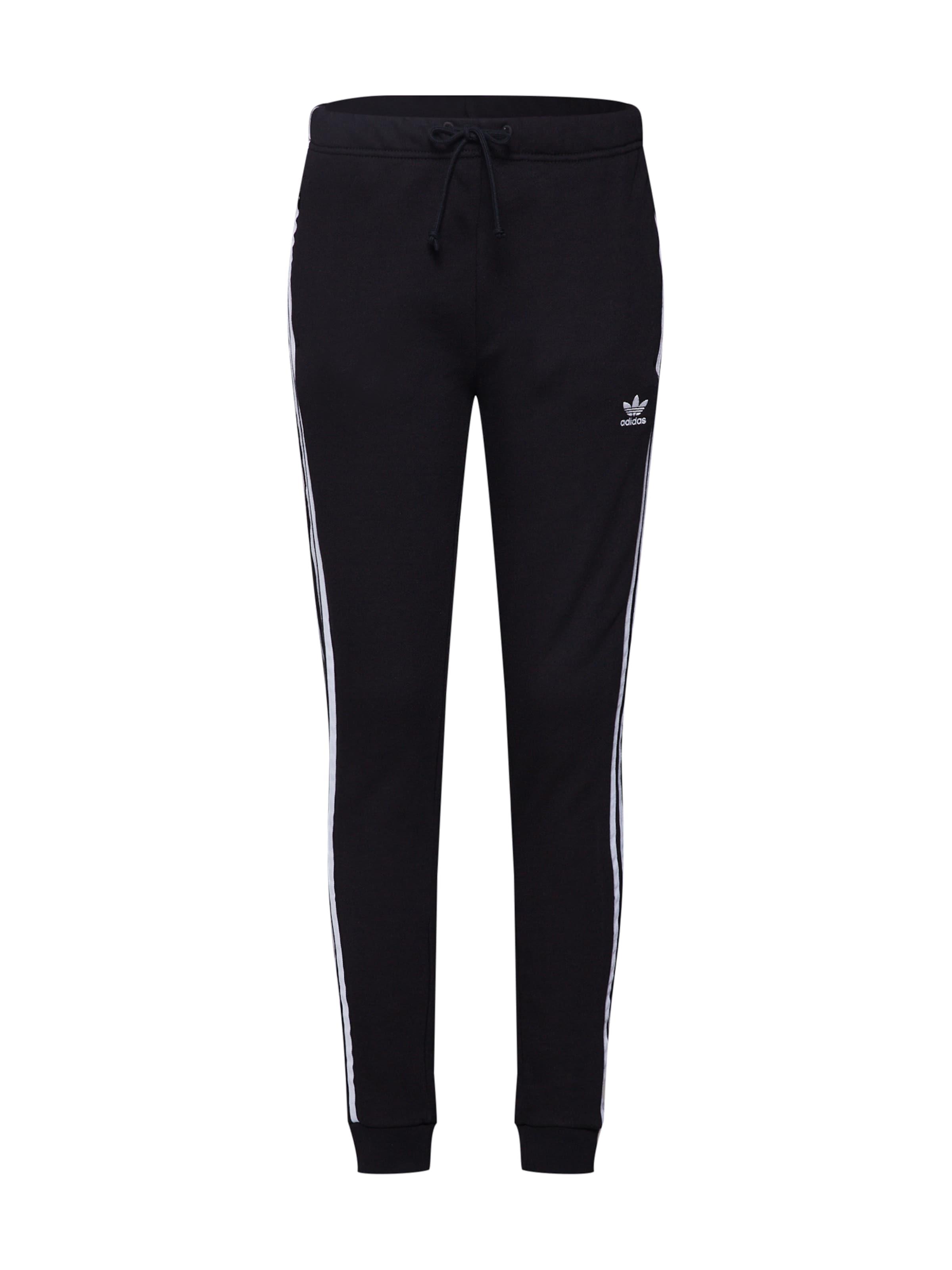Adidas En 'tp Pantalon NoirBlanc Cuf' Originals wPkZiuTXOl