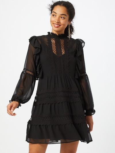 Guido Maria Kretschmer Collection Cocktail dress 'Greta' in Black, View model