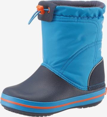Crocs Stiefel 'Crocband Lodge Point Boot' in Blau