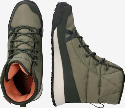 Auliniai batai 'TERREX CHOLEAH PADD' iš ADIDAS PERFORMANCE , spalva - rusvai žalia / įdegio spalva: Vaizdas iš šono