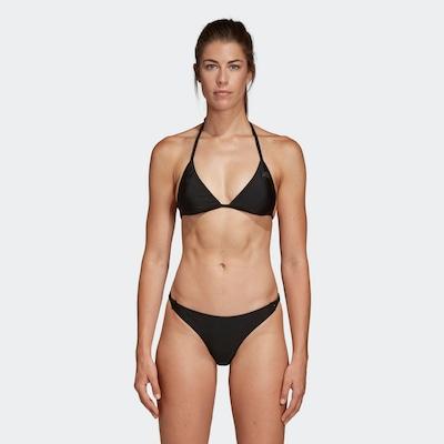 ADIDAS PERFORMANCE Bikini in schwarz: Frontalansicht