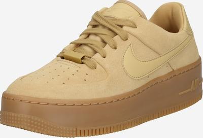 Nike Sportswear Nízke tenisky 'Force' - zlatá: Pohľad spredu