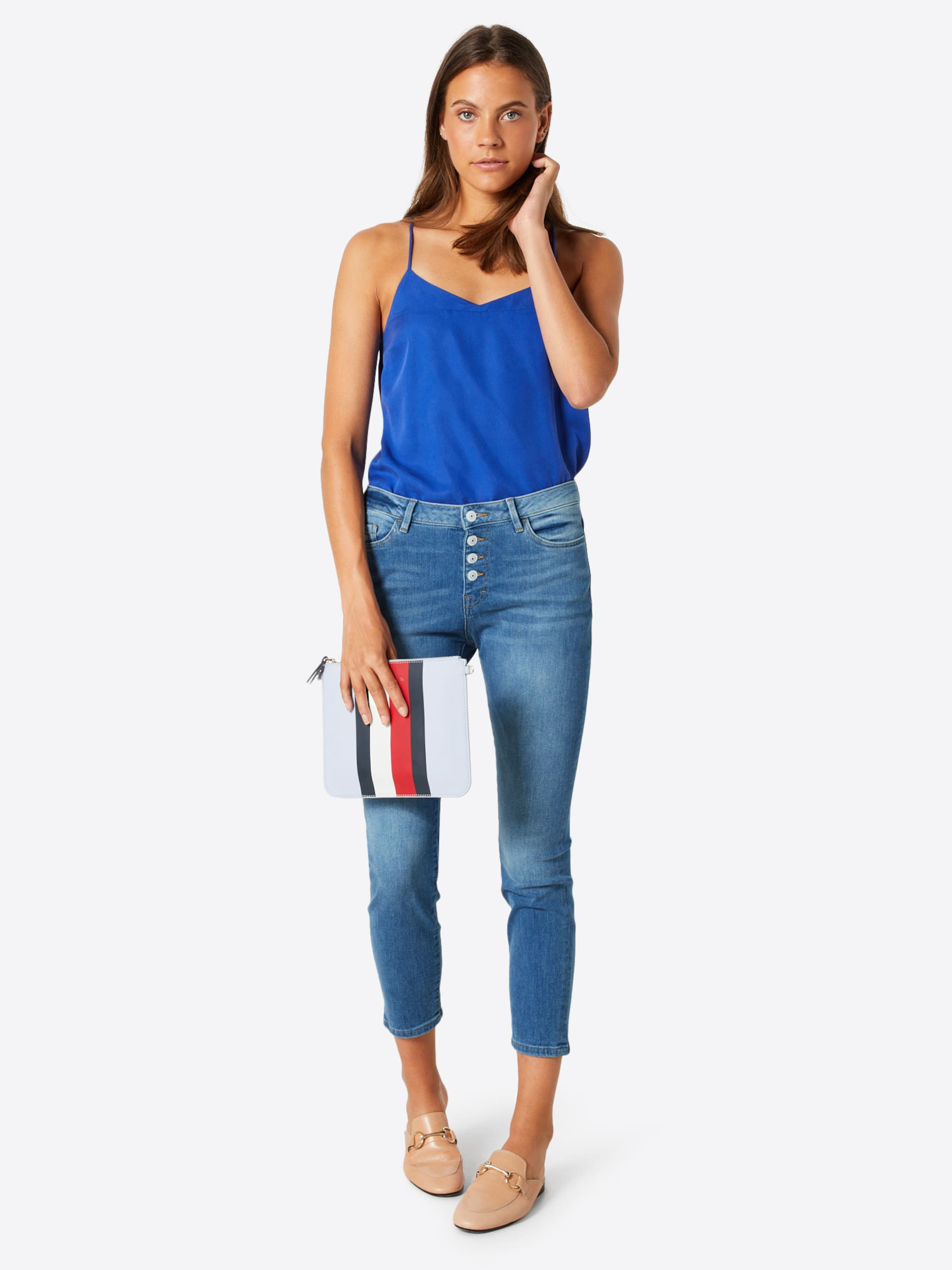 In Denim' Jeans Cropped Blue By Esprit 'skin Pants Denim Edc n0vwN8m