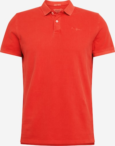 Pepe Jeans Poloshirt in rostrot: Frontalansicht