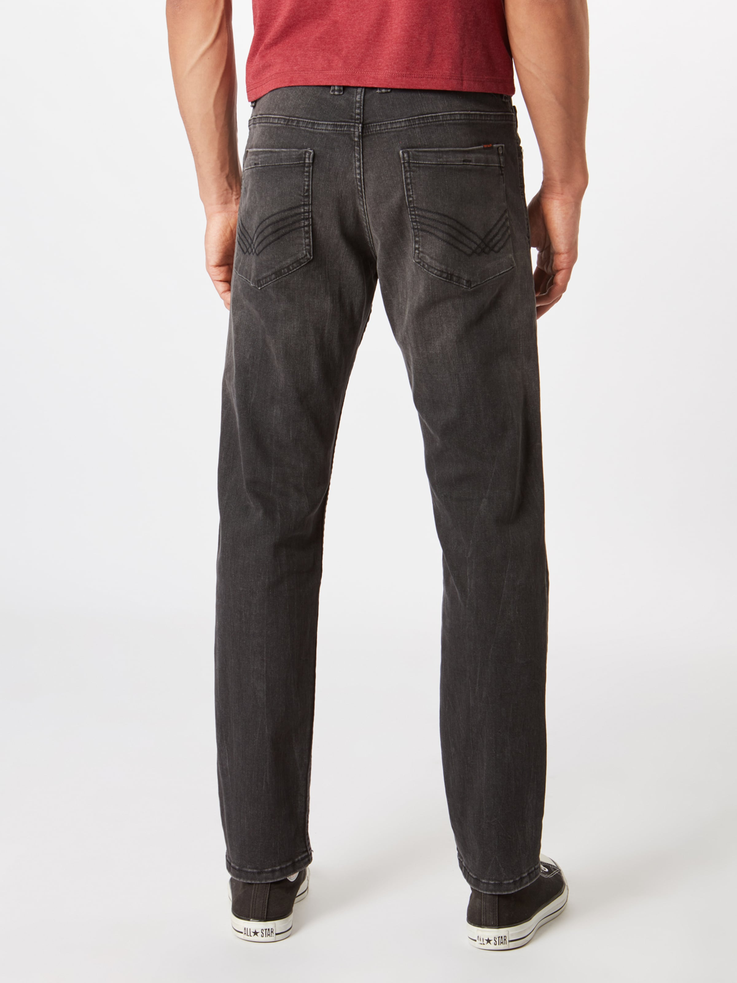 Jean En Denim Tom Tailor Noir 'marvin' 0OPwXk8n