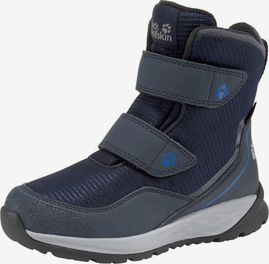 JACK WOLFSKIN Outdoorwinterstiefel 'Polar Bear Texapore High VC K' in navy, Produktansicht