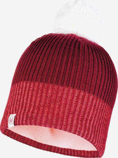 BUFF Mütze in rot / weiß, Produktansicht