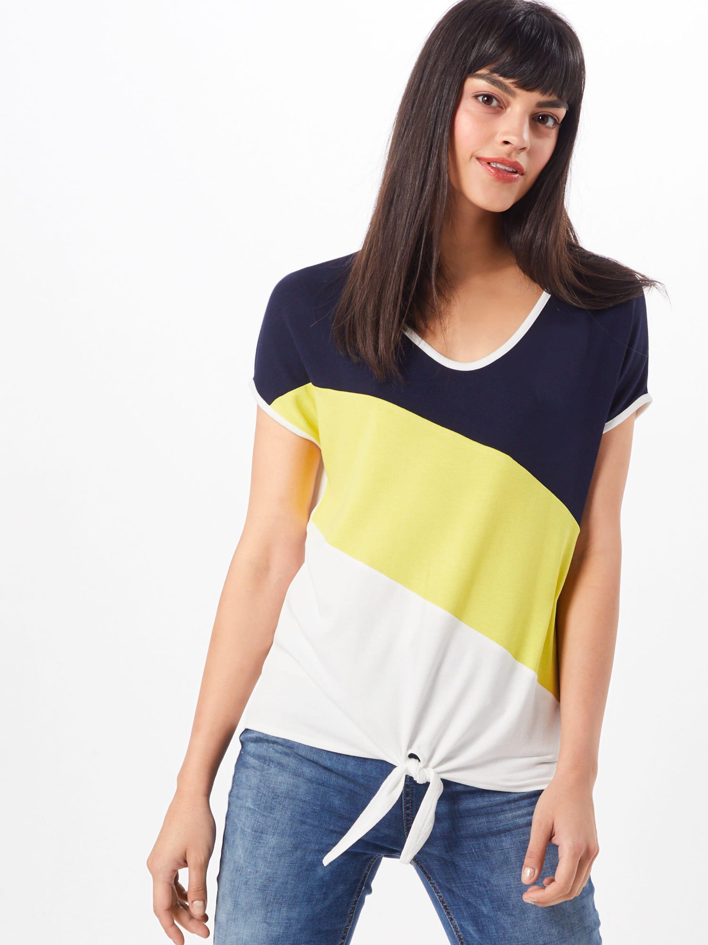 One 'ramona' shirt Cassé Blanc T Street JauneNoir En I9WDE2H