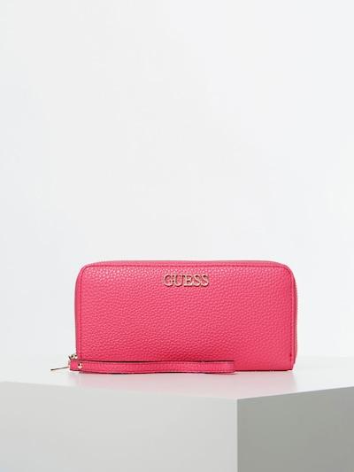 GUESS Portemonnaie  'Schiebergriff' in pink, Produktansicht
