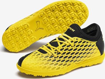 PUMA Sportschoen 'FUTURE 5.4 TT' in de kleur Geel / Zwart, Productweergave