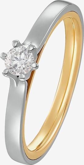 CHRIST Ring in gold / silber, Produktansicht