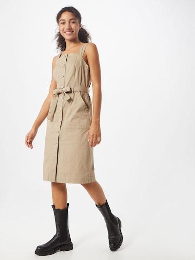 VERO MODA Košeľové šaty 'Julia' - svetlo béžová: Pohľad spredu
