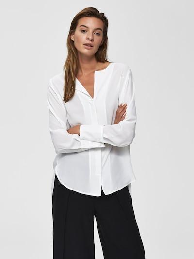 SELECTED FEMME Hemd in weiß, Modelansicht