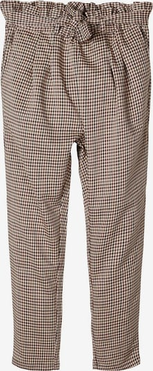 NAME IT Hose in beige / schwarz, Produktansicht