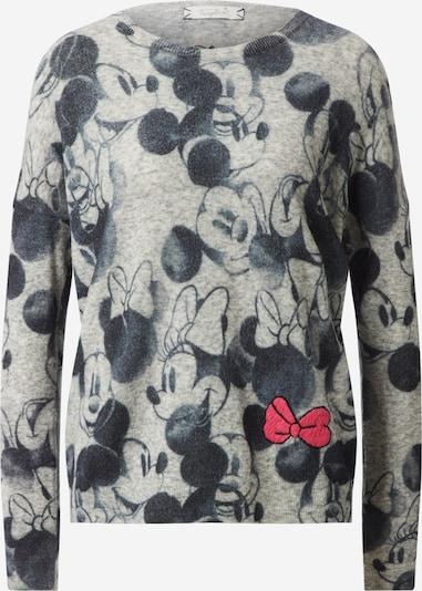 Frogbox Sweter w kolorze szary / czerwony / czarnym, Podgląd produktu