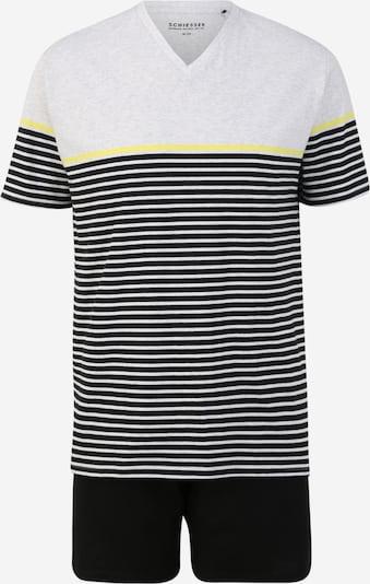 SCHIESSER Pyžamo krátké - šedý melír, Produkt
