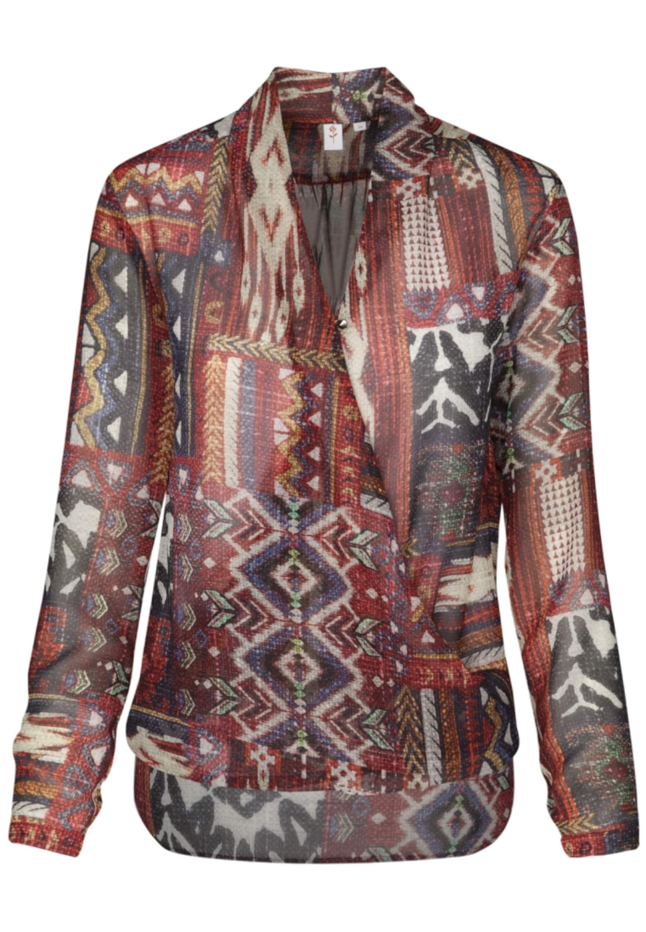 Manchester Großer Verkauf Viele Arten Von Online-Verkauf SEIDENSTICKER Fashion-Bluse 'Schwarze Rose' Spielraum Günstig Online POoBCu7v6d