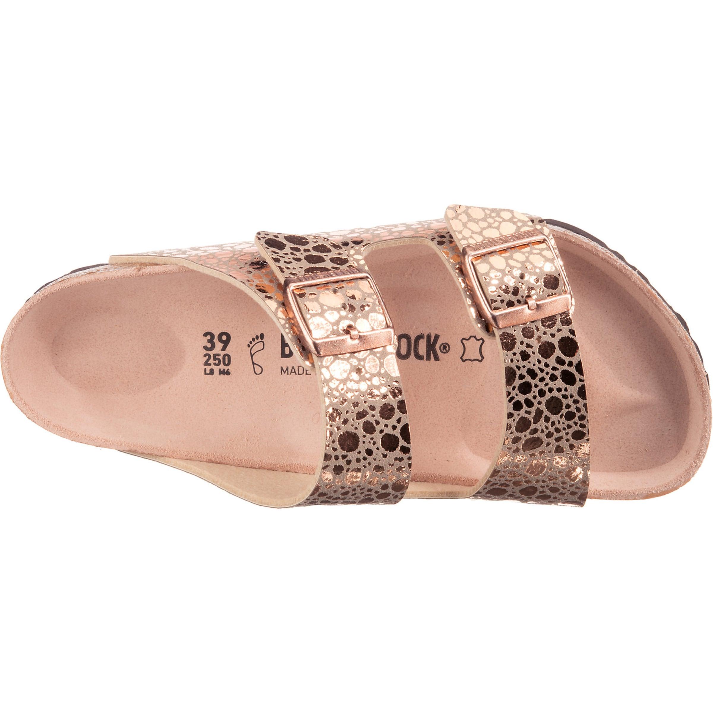 Metallic Pantoletten 'arizona Birkenstock Stones' In Gold thrCxBsQdo