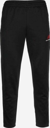 new balance Jogginghose in rot / schwarz / weiß, Produktansicht