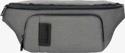 Piquadro Gürteltasche in grau / dunkelgrau, Produktansicht