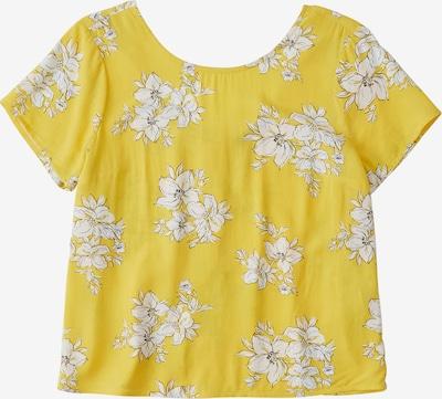 Abercrombie & Fitch T-shirt en jaune, Vue avec produit